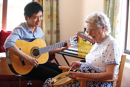 How music therapy can improve quality of life