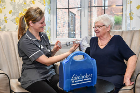 New Care installs Dechoker in all homes