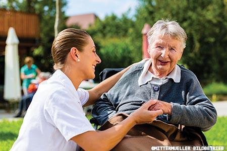 How to create a dementia-friendly care home setting