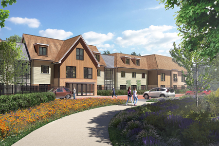 Green light for Sarisbury Green home