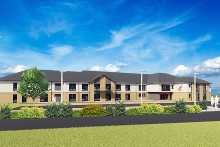 New care home in Doonfoot in Ayrshire