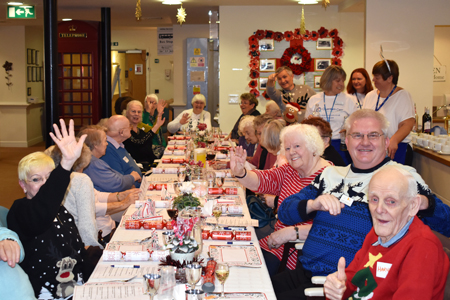 Jubilee Court hosts community event