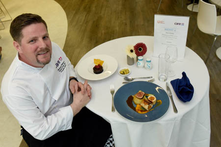 Top care home chef rewarded