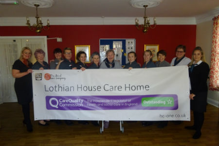 Lothian House rated 'outstanding'