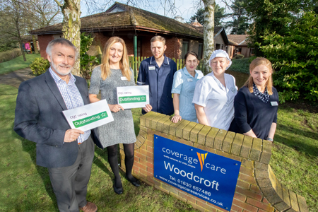 Home delivers 'outstanding' care