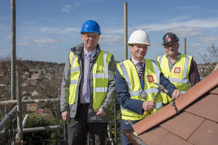 Care UK celebrates 'topping out'