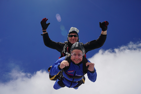 Skydive for MHA Fitzwarren Court