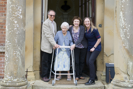 Resident returns to South Ormsby Hall