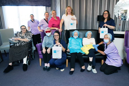 Residents learn about dental care