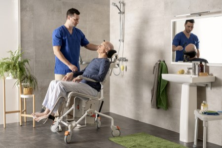 Swift Mobil-2 shower commode chairs