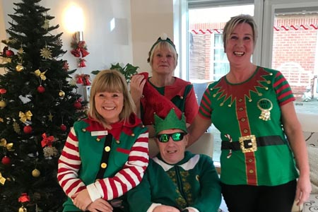 Staff discover their inner elves