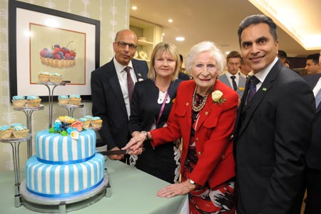Resident helps launch Henley home