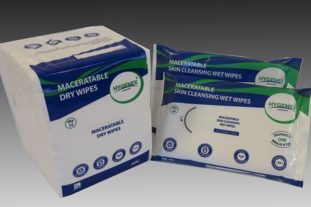 New 100% natural cleansing wipes