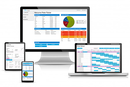 CoolCare offers free care home management software