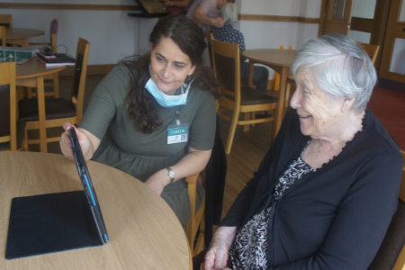 Supporting people with dementia in care homes during Covid-19