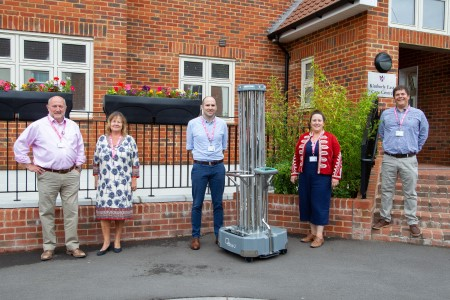 Wessex Care sees light in UV-C Covid decontamination tech
